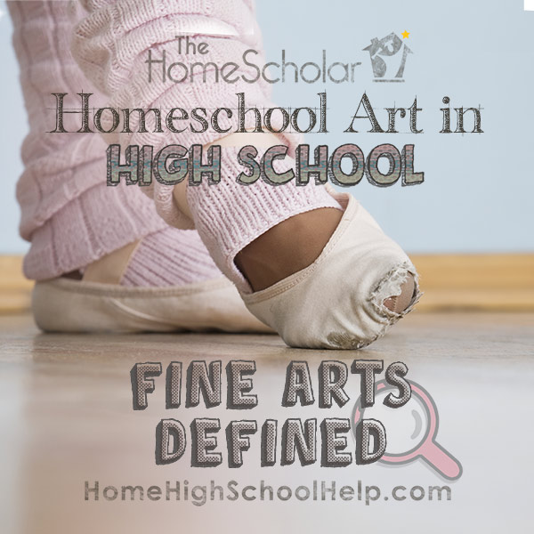 Fine Arts Defined for High School Image