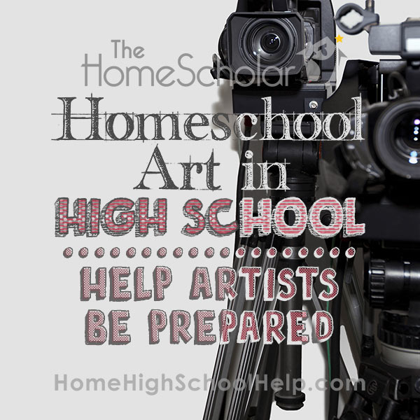 Help Homeschool Artists Be Prepared
